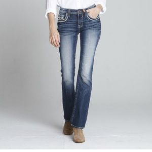 Vigoss women's jeans size 7/8 L 33